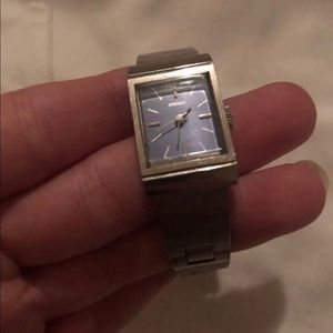 Seiko silver watch